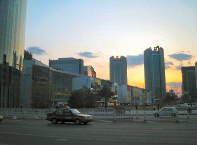 北京夕暮れ