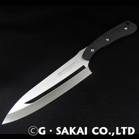サビナイフキッチン2牛刀①