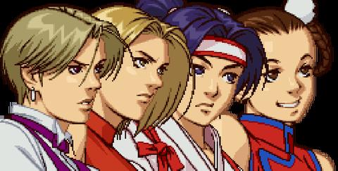 女性格闘チーム
