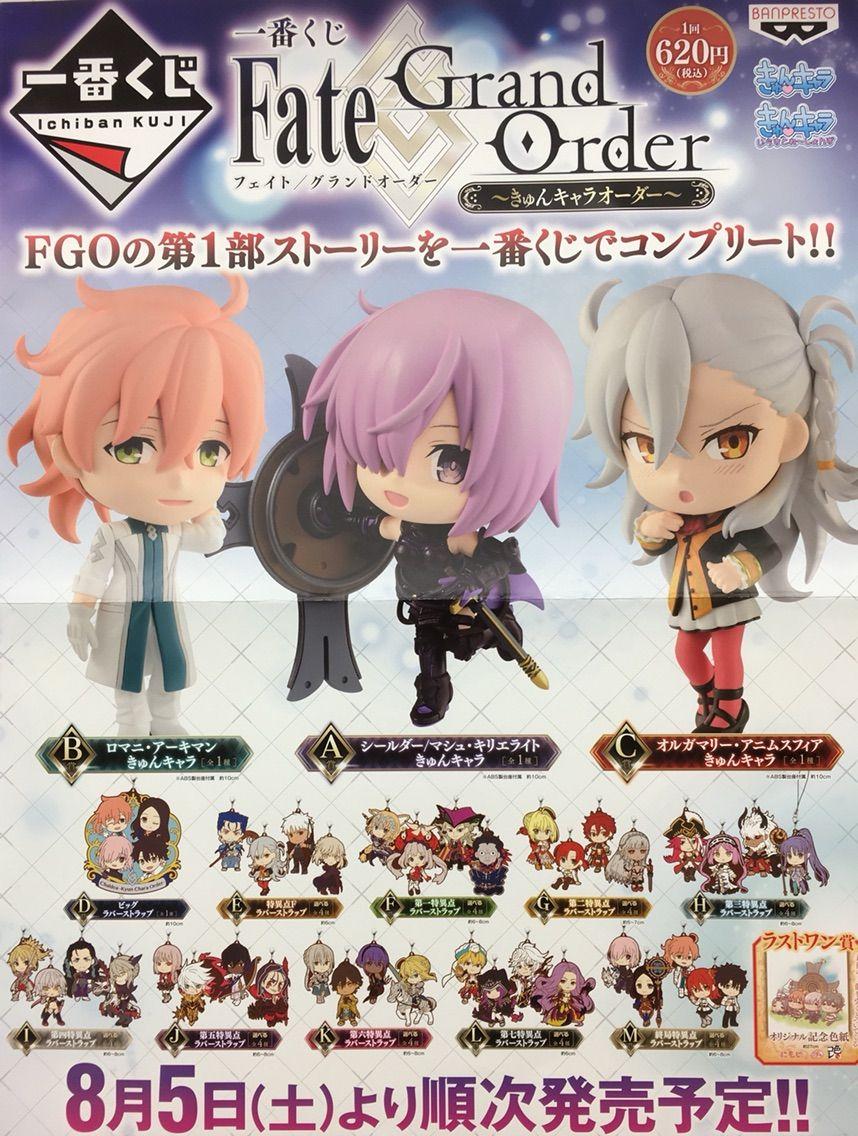 一番くじ 『Fate/Grand Order-きゅんキャラオーダー-(フェイト
