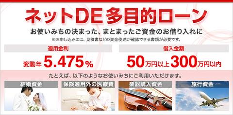 多目的ローン   三菱東京UFJ銀行