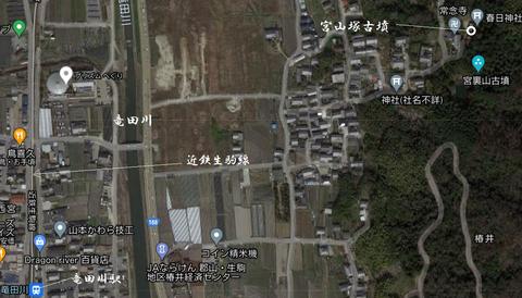 PNG 宮山塚古墳 所在地 21年6月19日作成