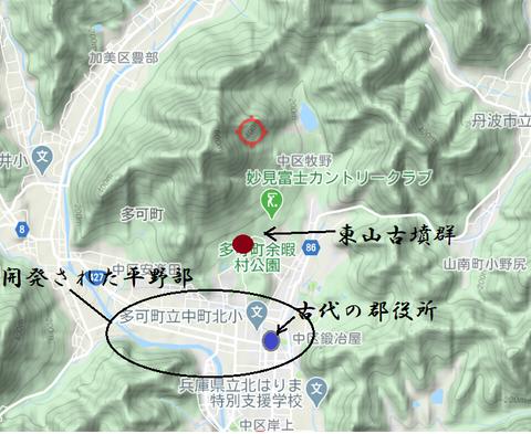 PNG  Higashiyama kofungun to heiyabu東山古墳群と