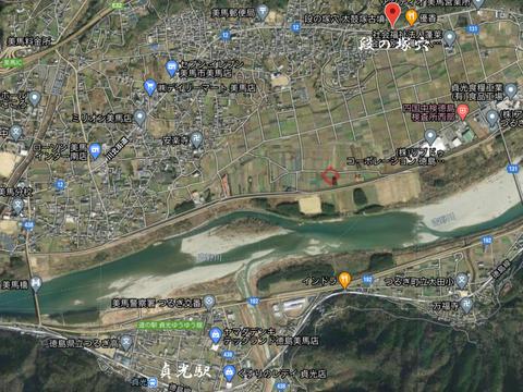 段の塚穴地図(太鼓塚棚塚)21年3月26日