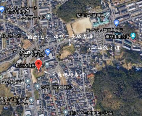 大庭鶏塚古墳 所在地 21年5月3日