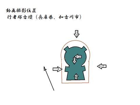 PNG gyoujyazuka kofun zu