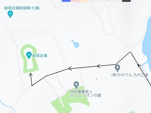 PNG 船塚古墳 ルート