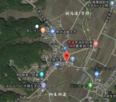 PNG keibamichi 1goufun Narashi chizu