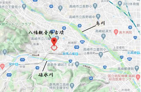 PNG yawata kannonzuka kofun map