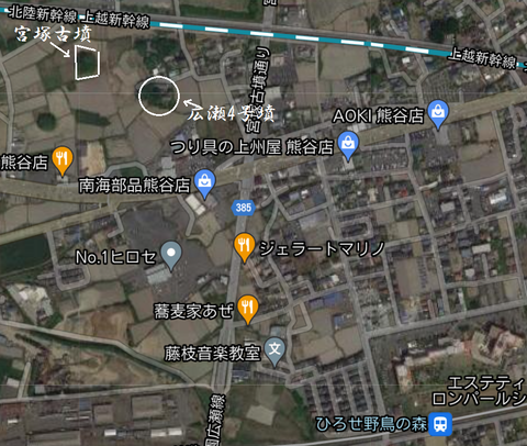 PNG 宮塚古墳(熊谷市)所在地