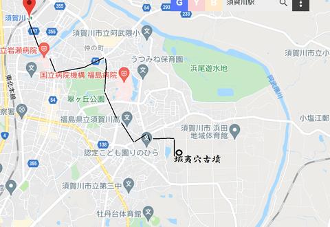 PNG 須賀川市古墳散策ルート(1)21年4月28日
