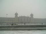 060206雪の北京駅