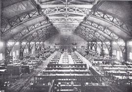 タイポグラフィセミナー写真 鐘紡兵庫工場 食堂