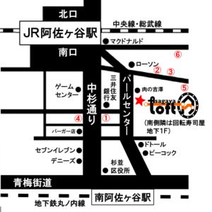 map阿佐ヶ谷LOFTA