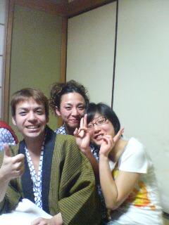 ほもきさん&まみちゃん&私@奥多摩20100106