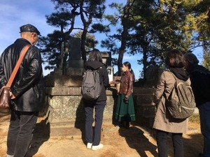 研修(飯森貞吉の墓所)
