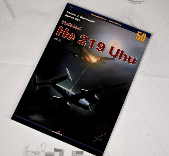 Monographs 50 (3D Edition) Heinkel He 219 UHU - Vol (1)
