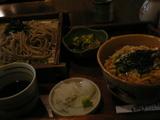 セイロ蕎麦、ミニ親子丼