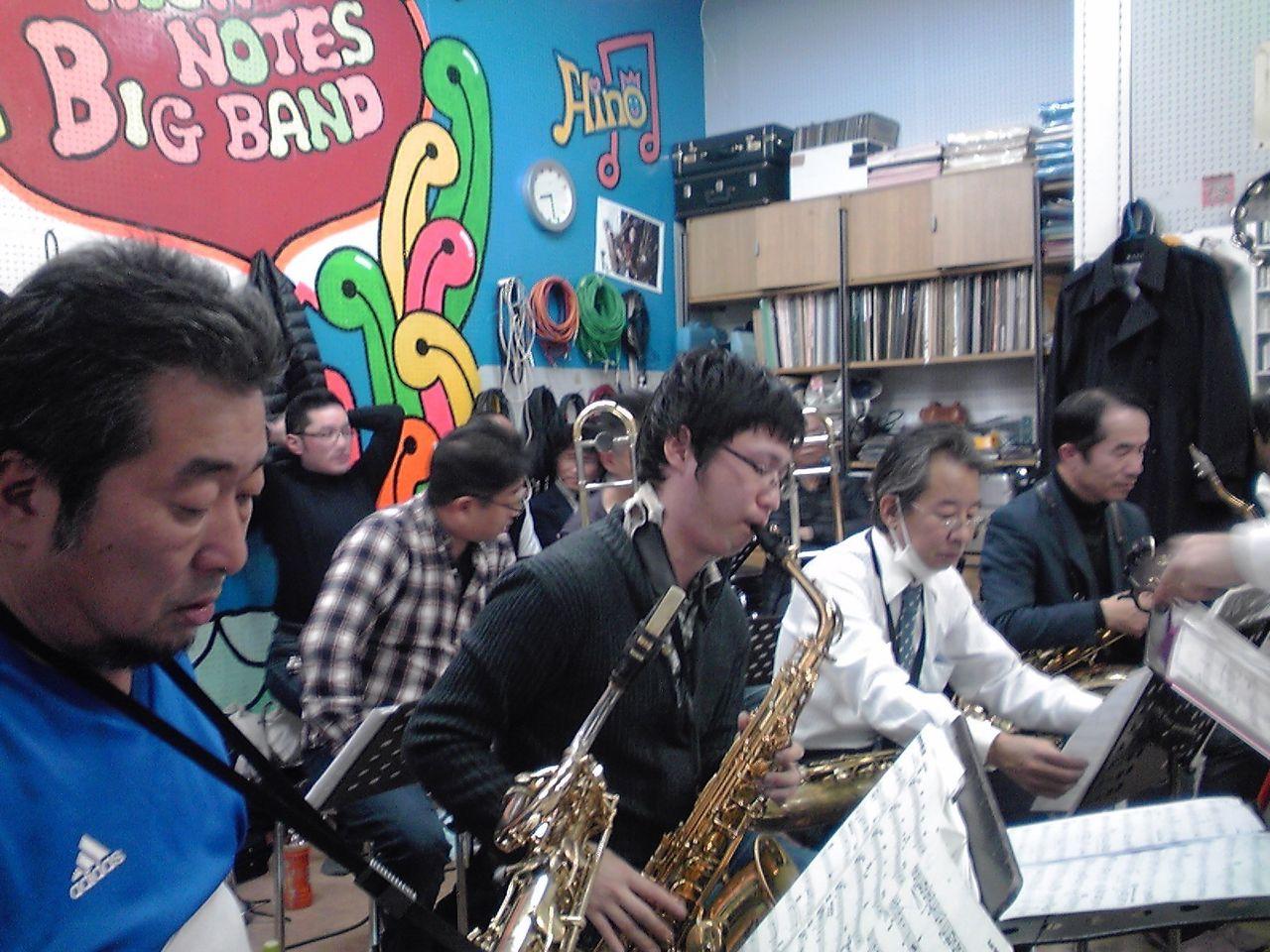 High Notes Big Band結成30周年記念ライブ「赤と黒の融合」