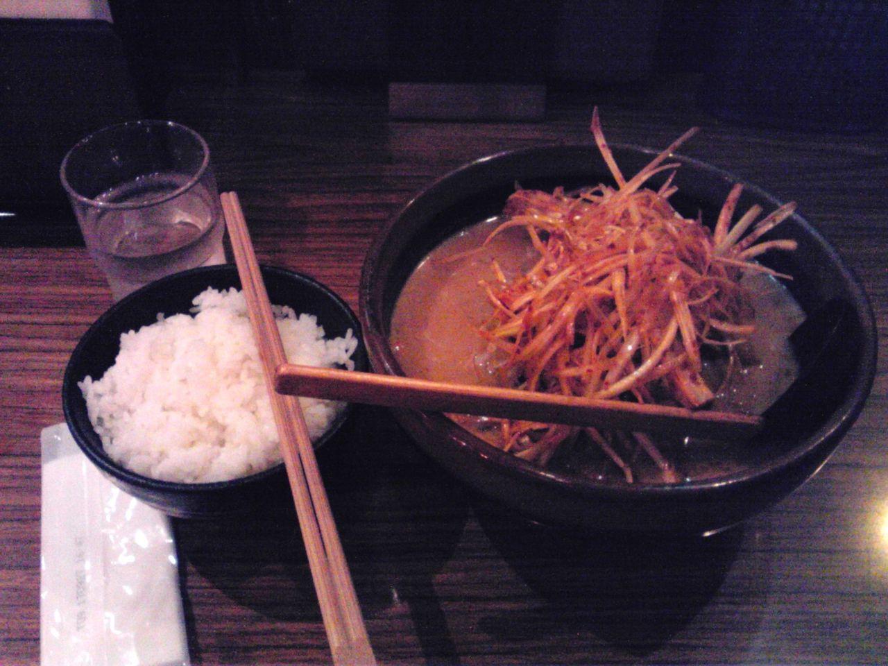 彰膳さんの北海道味噌肉ネギラーメン