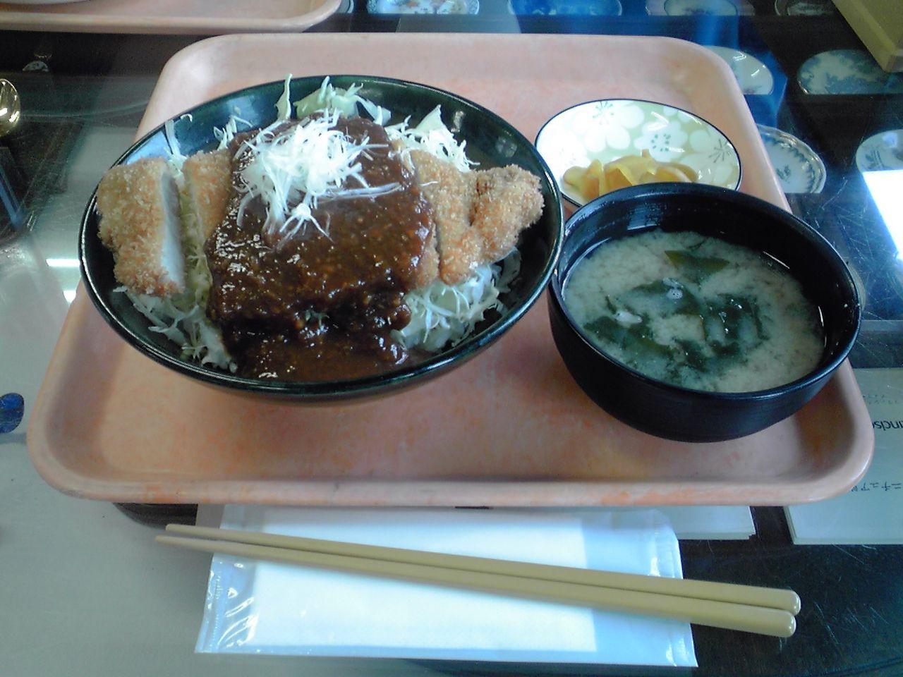 きむらさんの味噌カツ丼