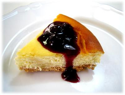 大地のタルト「ベークドチーズケーキ」♪
