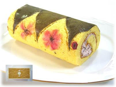 桜のロールケーキ★