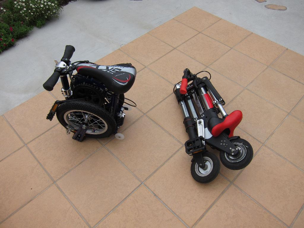 Gumbo Champroo:折りたたみ自転車 2 ...