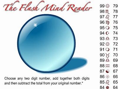 心を読む水晶玉