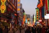 中華街大通りの賑わい(1)