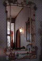 ヴィネチア海洋風景のモザイク鏡