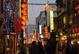 中華街大通りの賑わい(2)