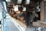 帝釈堂内陣外側床下の木彫