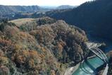 宮ヶ瀬ダム下の風景
