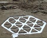 Hexagonal-Pewter-Stool