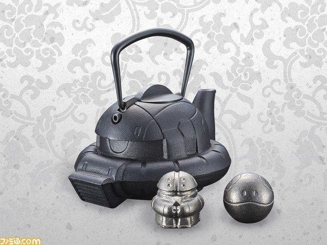 【画像】ザク頭をモデルとした「鉄瓶」が発売決定!南部鉄器製で価格は29,160円。