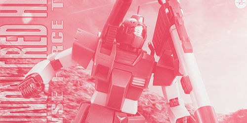 MG ジム・キャノン[レッド・ヘッド](ジャブロー防衛隊仕様) レビュー
