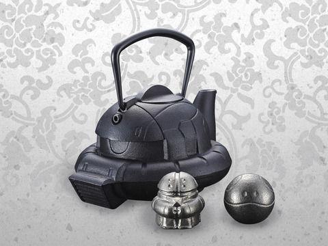 ザクやアッガイが伝統工芸品「南部鉄器」の鉄瓶に!シャア専用の制作を断念した理由とは?
