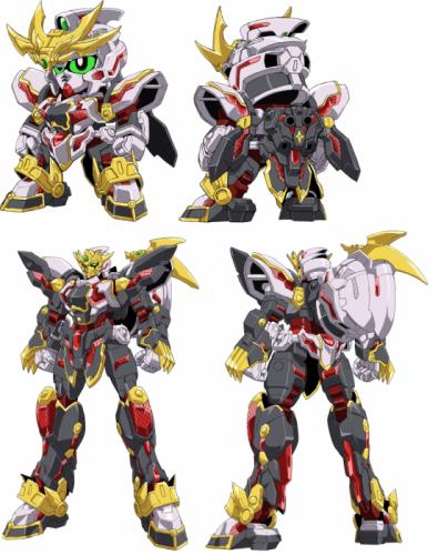 「RX-零丸」の変形機構について語ろう!