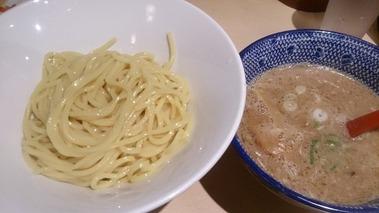 北海道恵比寿 立川ラーメンスクエア店 濃厚豚骨魚介つけ麺