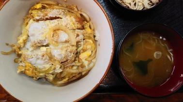 泉町岩井屋 ランチ かつ丼