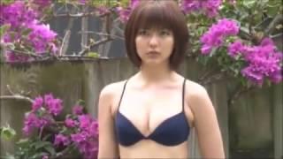【動画】真野恵里菜-ビキニでグラビア撮影PV