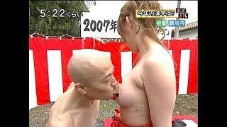 【動画】井手らっきょが女優の乳首に吸い付くエロ企画!