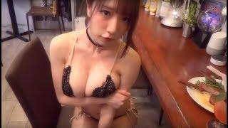 【動画】清水あいり Airi Shimizu 水着 空手も披露! 東京グラビアデエト EX MAX! エキサイティングマックス