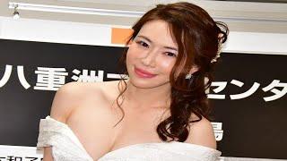 """【動画】""""大人グラドル""""岩本和子「エロい私を抱いて!」と初写真集をアピール"""