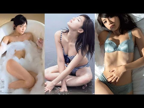 【動画】川口春奈 セクシー水着グラビア画像集。写真集では泡風呂ヌード、セミヌード、水着姿、下着姿を披露!胸チラ谷間がエロいショットも! kawaguchi haruna
