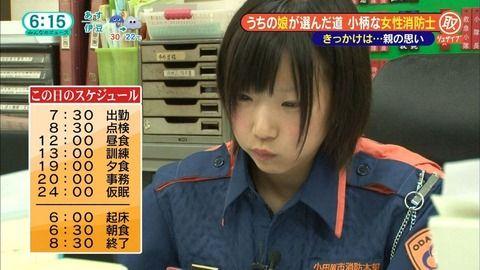 【朗報】ぐうかわ女性消防士、発見される