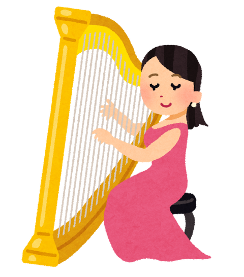 musician_harp_woman (1)