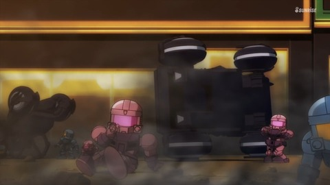 SDガンダムワールドヒーローズ 第1話 感想 ネタバレ 246