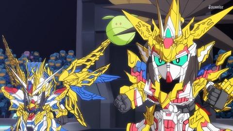 SDガンダムワールドヒーローズ 第3話 感想 ネタバレ 0734